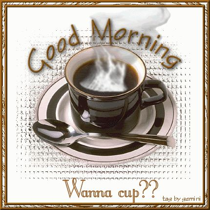 good morning coffee quotes | good morning coffee steaming Pictures, Images and Photos