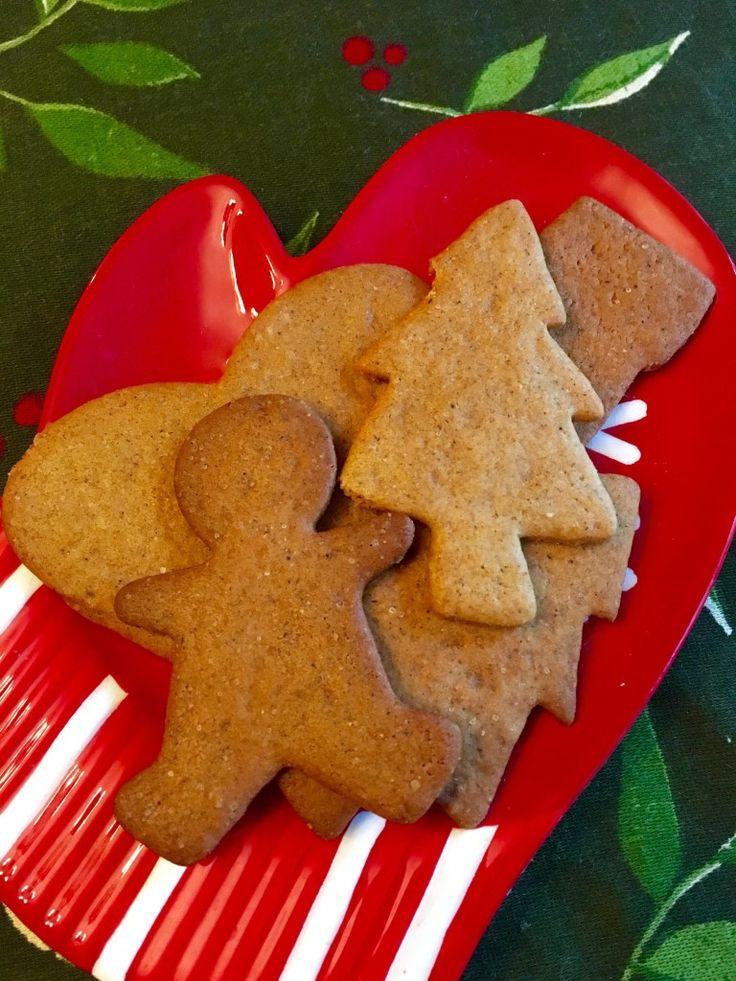 Vegan Peter's Pepparkakor (Swedish Gingerbread Cookies)