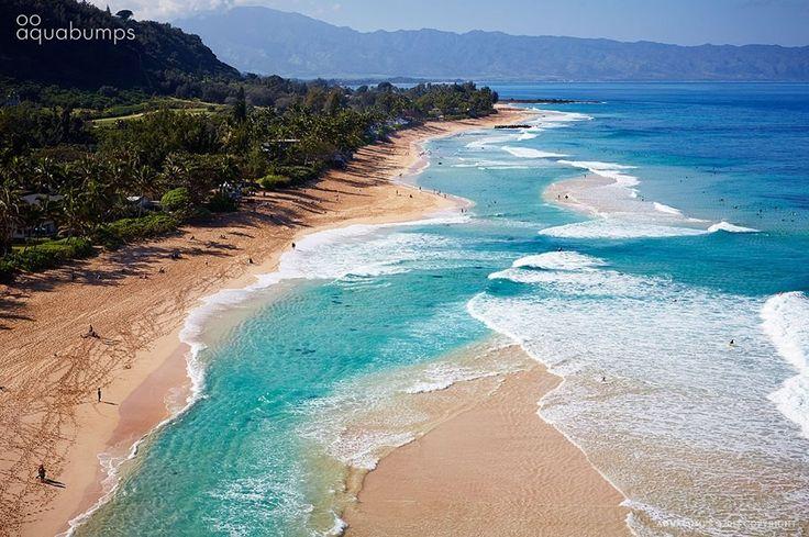 Banzai, Pipeline, Sunset Beach, North Shore Oahu, Hawaii, Polynesia, Central Pacific Ocean.