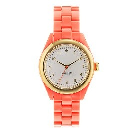 Spade Coral, Coral Watches, Fashion, Style, Coral Kate, Spade Watches, Accessories, Kate Spade, Katespade