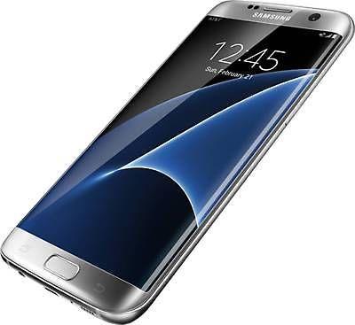 SAMSUNG GALAXY S7 EDGE G935A AT&T (UNLOCKED) 32GB 4G SMARTPHONE SILVER TITANIUM Rp 5.341.500