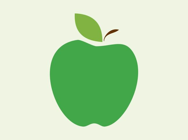 Apple Vector Icon free