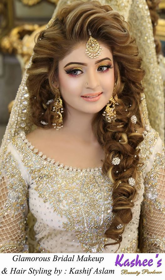 latest hair style pic bridal makeup by kashee s parlour 5094 | 3937f66f2f43156c096a47b5c73be137 pakistani bridal makeup parlour