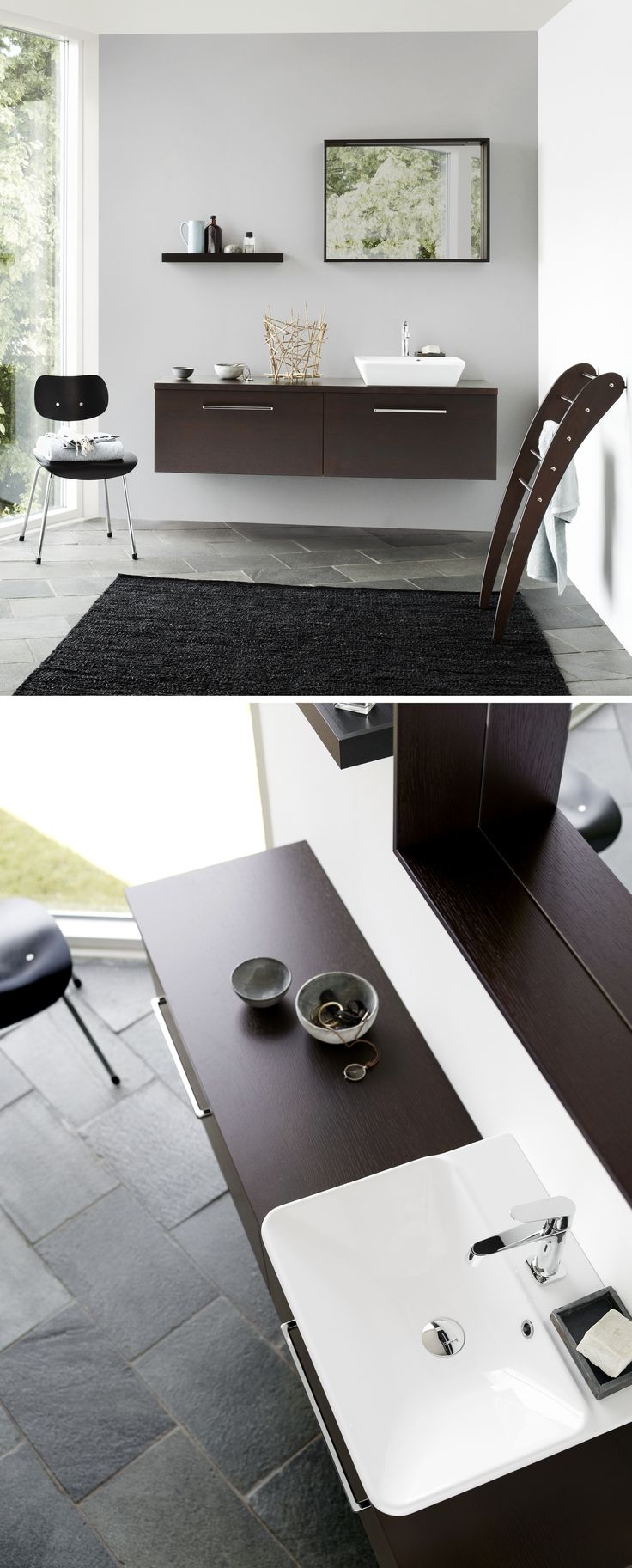 Elegant functionality does not have to be more complicated than that. Lots of elbowroom and room for your creativity.