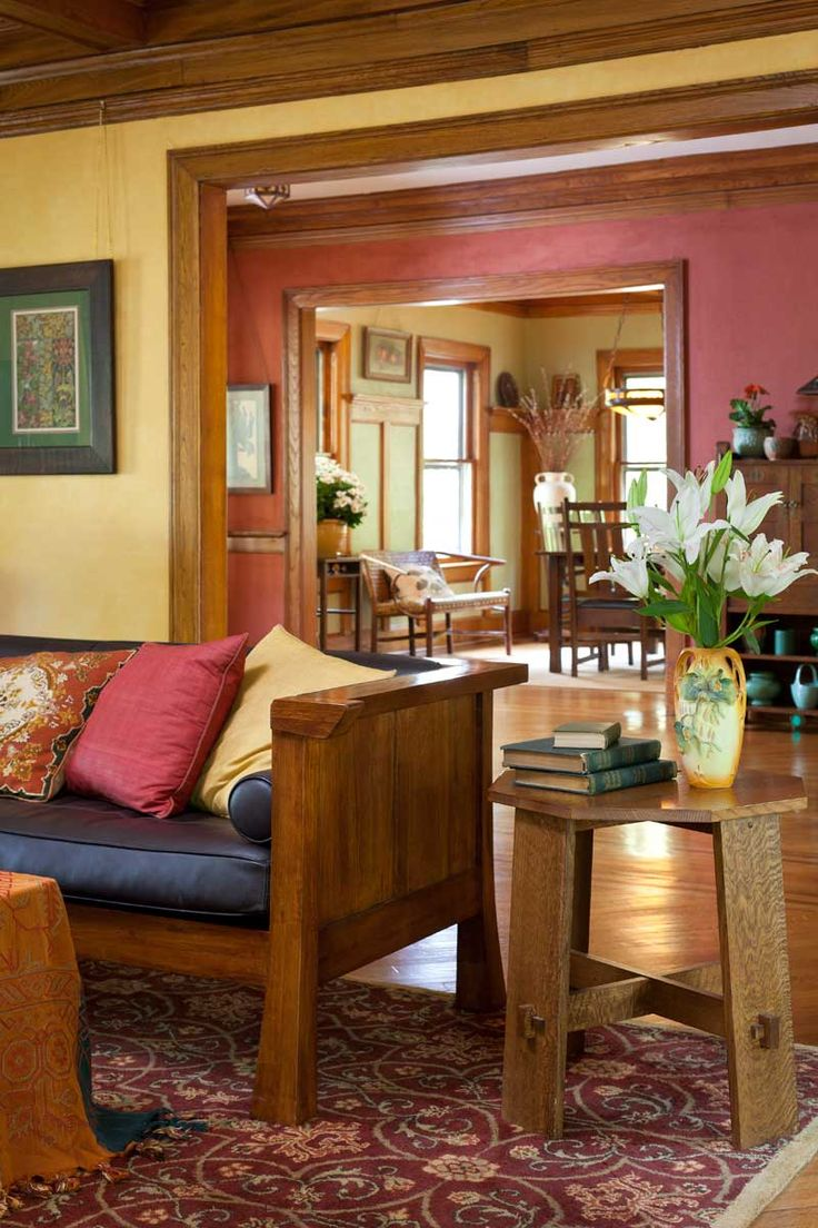 Craftsman home craftsman family room columbus by melaragno - 103 Best Dark Trim House Images On Pinterest Home Wall Colors And Craftsman Interior