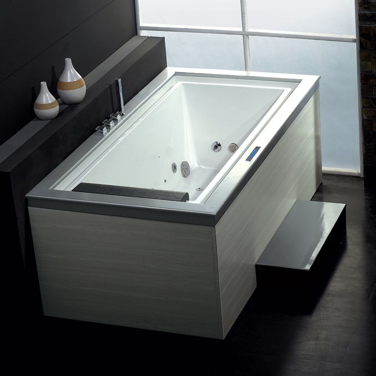 Whirlpool Mit überlaufrinne 140 best bad wanne images on bathtubs soaking tubs