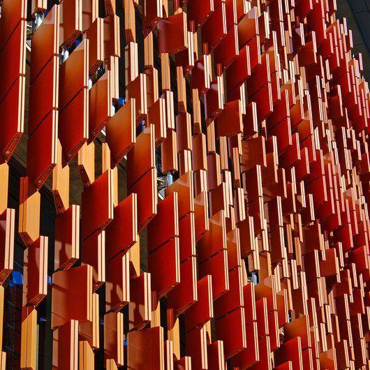 Architects Miguel Nino and Johanna Navarro created sustainable ceramic block that allows ventilation to pass through the brick