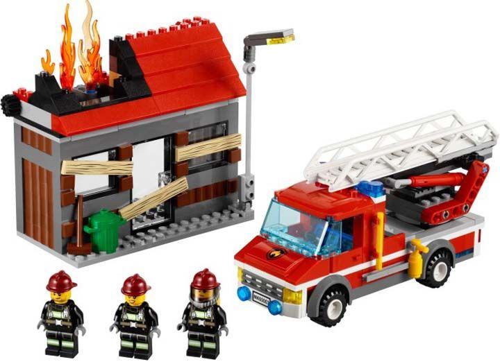 Lego pemadam kebakaran