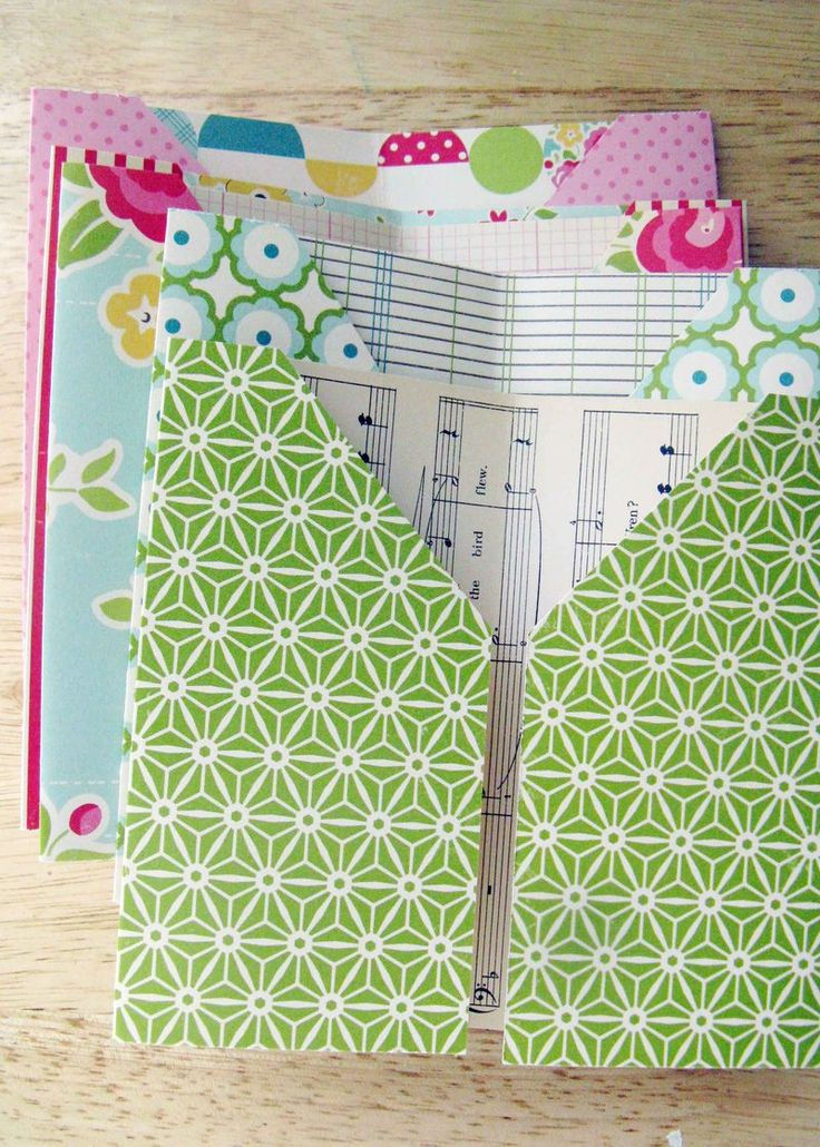 Pocket page mini tutorial Maybe I could use this to organize receipts in my…
