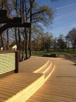 Деревянная палуба доска