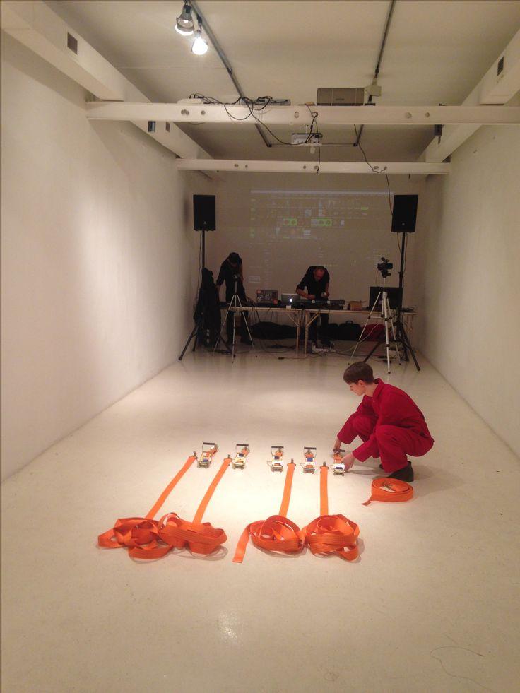 Cultural Embrace, performance by Robert Pettena and Valeria Rugi, Art Class War, Fondazione Pastificio Cerere