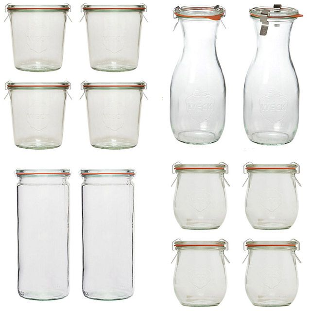 weck. these are amazing containers and I love them. so easy to use and clean.