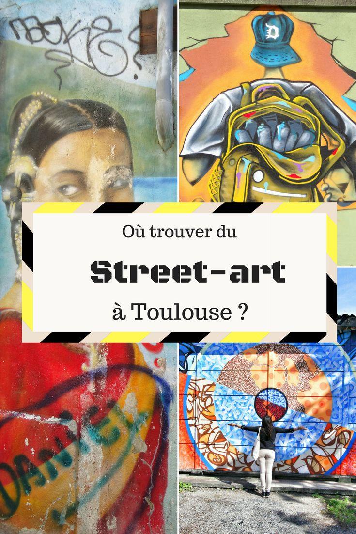 Graffitis, stickers et street-art en général à Toulouse Haute-Garonne