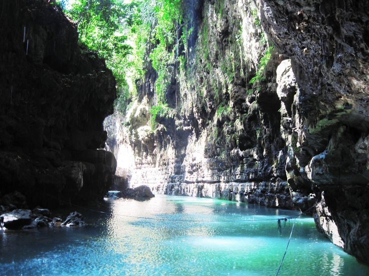 What do you think about green tosca river? #GreenCanyon Tasikmalaya, Indonesia.