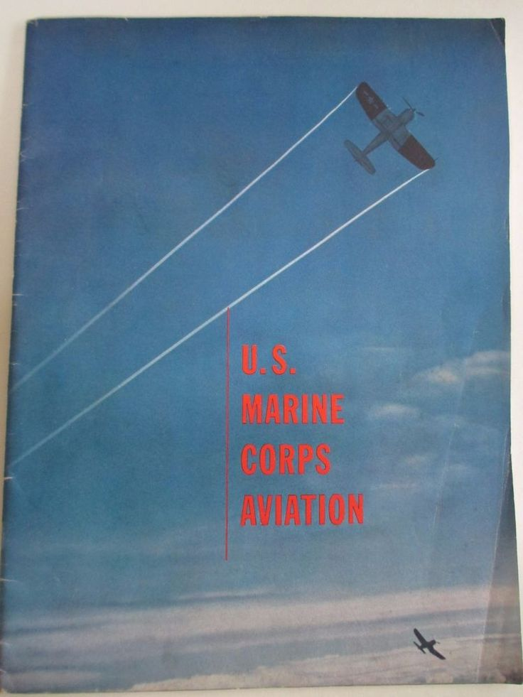 WW II 1940s US Marine Corps Aviation Magazine Booklet Dedication Hugh Laidman