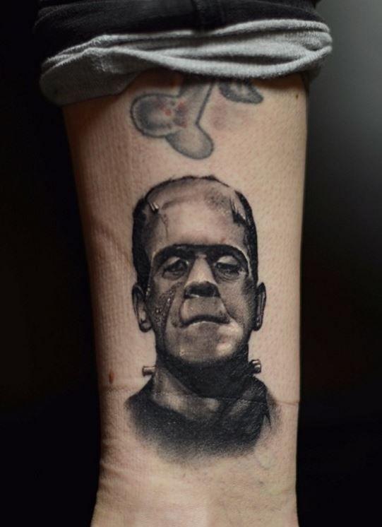 Little Frankenstein Tattoo