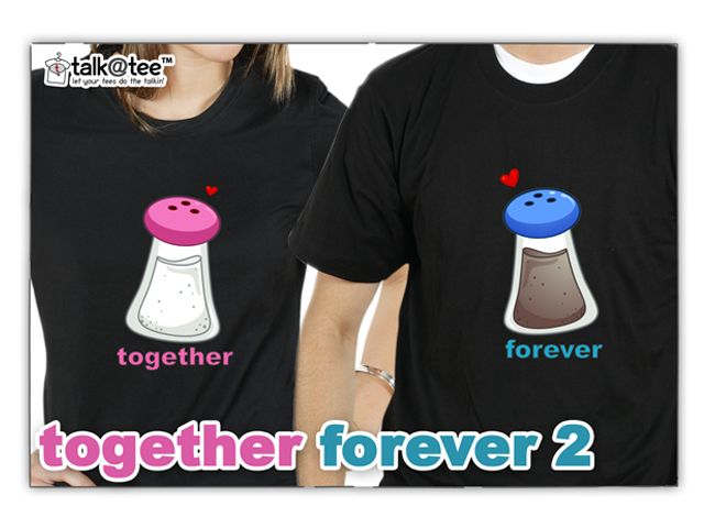 Couple Shirt: Together Forever