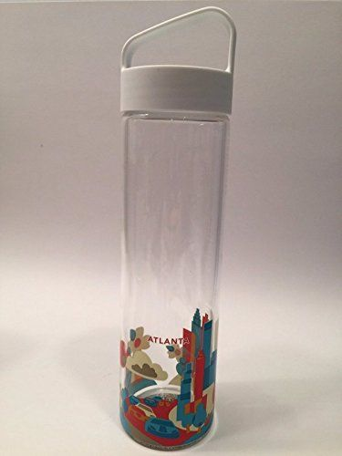 Starbucks You are Here Collection Glass Water Bottle ...
