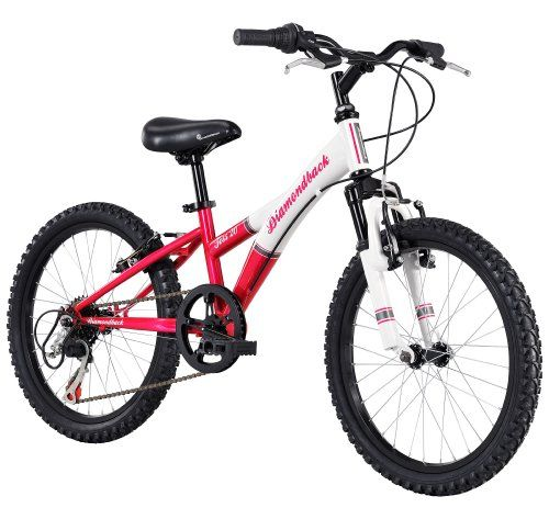 Love this Diamondback Bicycles 2014 Tess Junior Girl's Mountain Bike (20-Inch Wheels), One Size, Pink