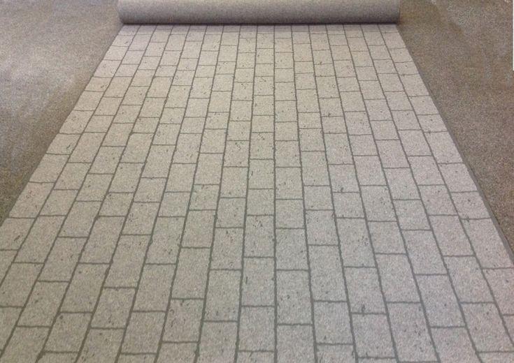 STREET PAVING - der Messeteppich in fotorealistischer Pflaster-Optik