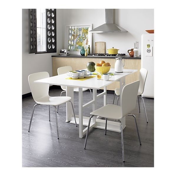 These crate and barrel chairs with dining room table 89 for Dining room tables crate and barrel