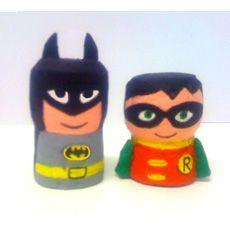 Batman e Robin_ tappo di sughero_Luca Ciancio