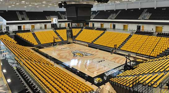 Best small college stadiums best small arenas ncaa for How much to build a basketball gym