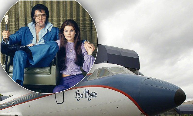 SEBASTIAN SHAKESPEARE: Priscilla Presley is all shook up over Elvis' jet sale