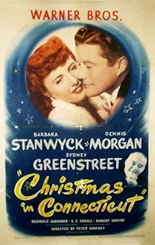 poster from 1945's Christmas in Connecticut | Classic Film Freak