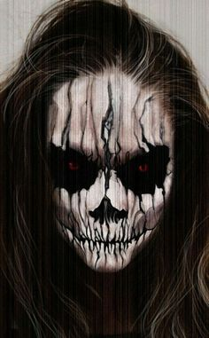 Horrifying Scary Halloween Makeup Ideas - Buzz Inspiration HAPPY HALLOWEEN