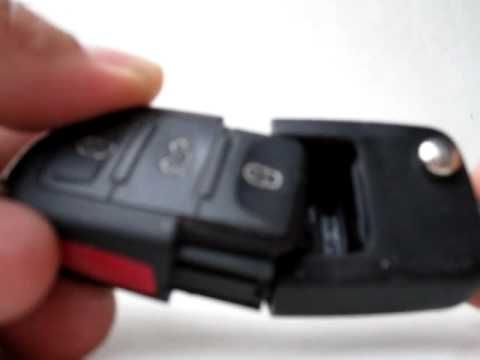 VW Volkswagen Jetta volkswagon remote key FOB battery replace