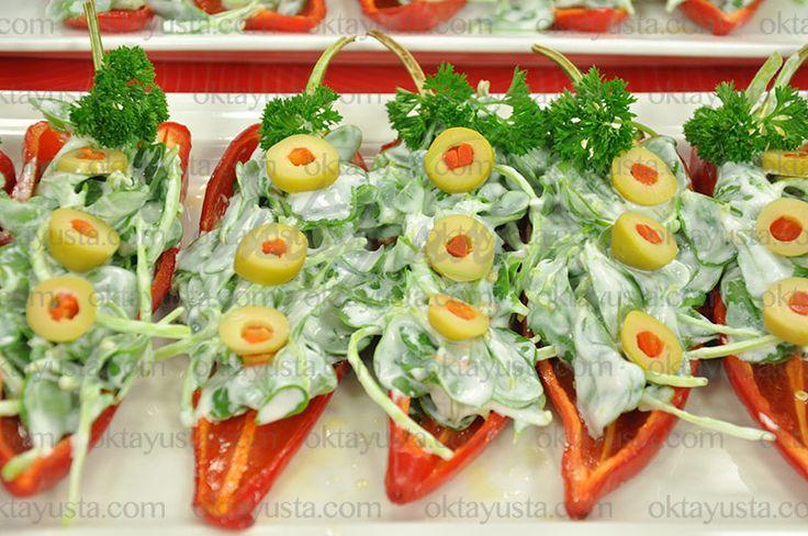 Biber Kayığında Semizotu Salatası | Oktay Usta [ Resmi Web Sitesi ]