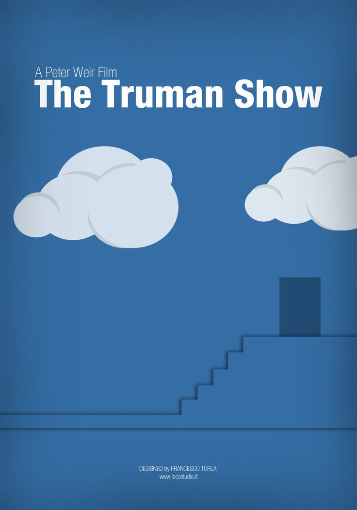 an overview of the popular truman show Theology of the truman show  truman's best friend, in order to keep him within the confines of his world in the similar way that screwtape tutors.