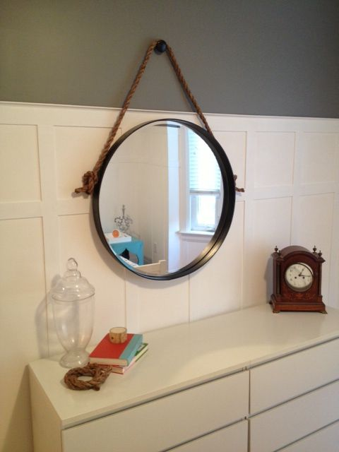 25 Best Ideas About Rope Mirror On Pinterest Nautical Mirror Nautical Bat