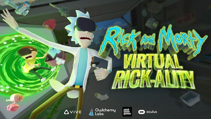 Virtual Rick-Ality juego de Rick and Morty en realidad virtual para Oculus.