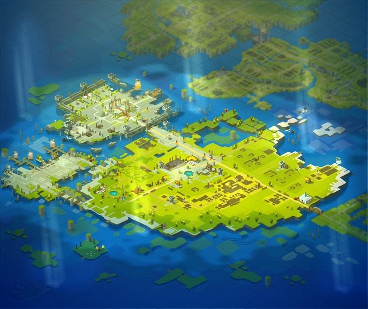WAKFU The new Capital of Amakna by Sevpoolay.deviantart.com on @deviantART