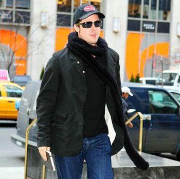 Brad Pitt moleskine us...