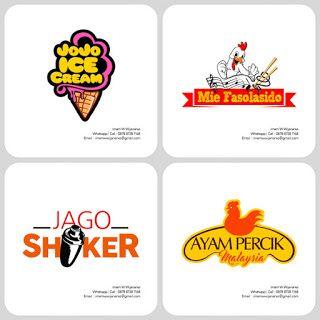Desain Logo   Logo Kuliner    Desain Gerobak   Jasa Desain dan Produksi Gerobak   Branding: Desain Logo Kuliner