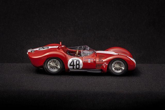 Jim Connor #48 II Maserati Birdcage châssis #2452 - Maserati | Flickr: partage de photos!