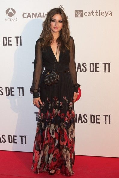 Maria Valverde Print Dress