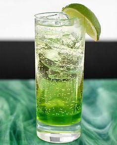 """Melon Heaven (alkoholfri)   En härligt """"giftig"""" alkoholfri drink, uppskattad på alla kalas."""