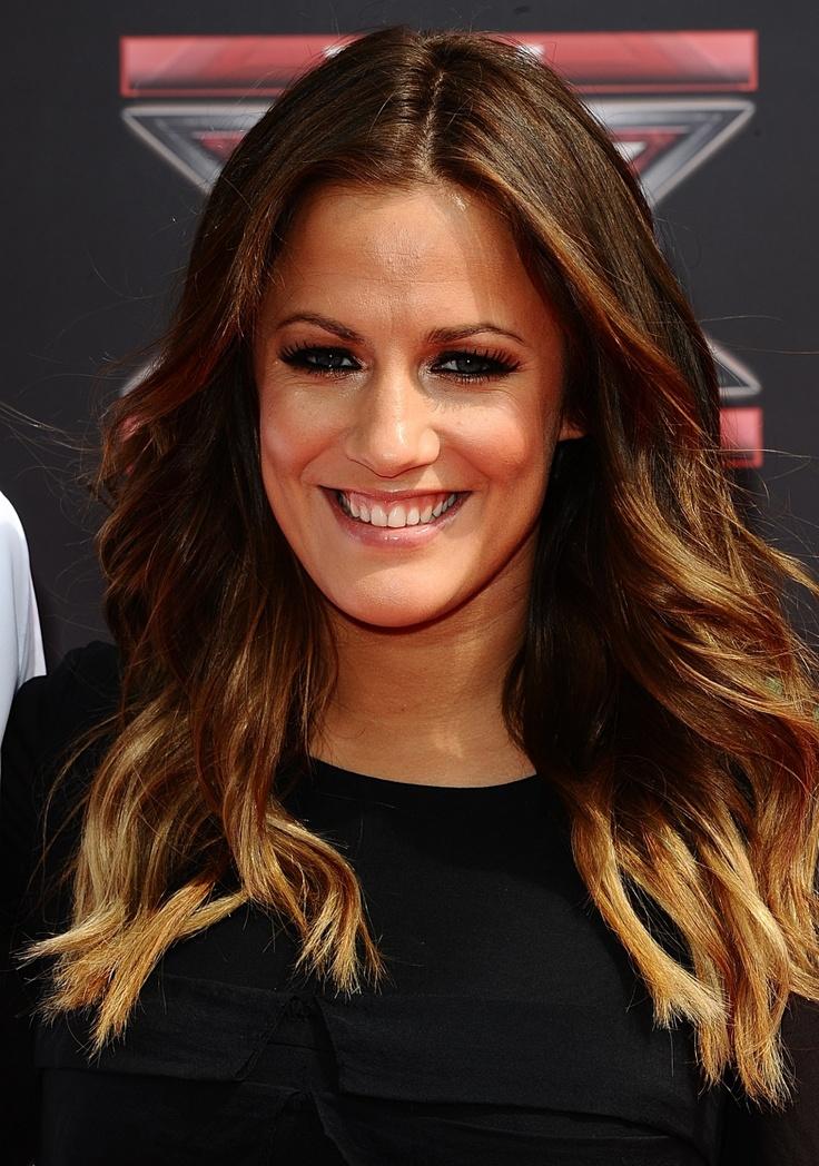 Love Caroline Flack's Ombre Hair! | hair | Pinterest