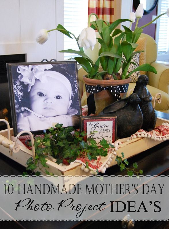 10 Mother's Day gift ideas utilizing cute pictures of your kids!