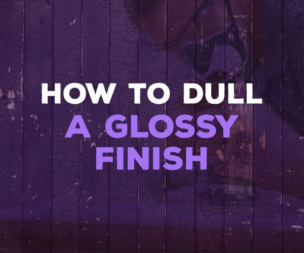 How To Dull A Glossy Finish Photo Onto Wood Home Improvement It Is Finished