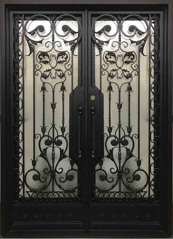 Iron Doors In Stock With Images Wrought Iron Front Door