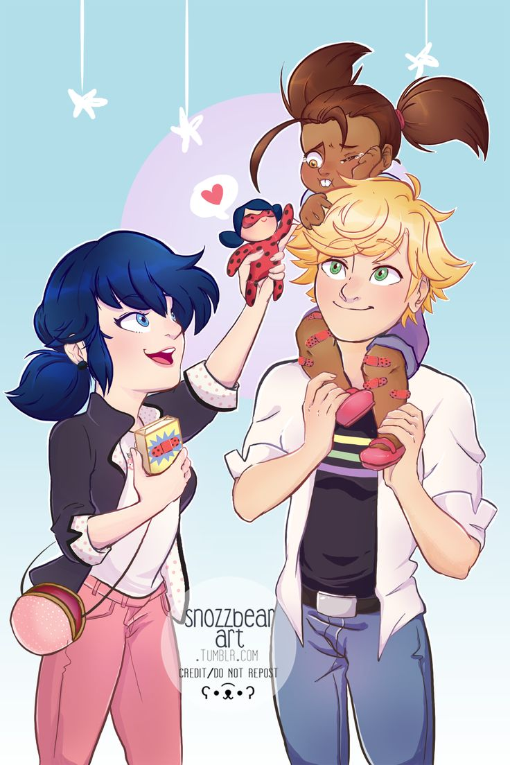 """Happy to finally reveal my piece done for the @ml-disaster-relief-zine! I'm so honored to have been able to contribute to such an amazing zine :-) """"Up to the Test is a Miraculous Ladybug charity zine..."""