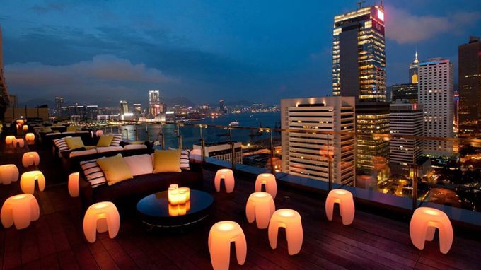 Sky high in Hong Kong: The best rooftop bars to visit