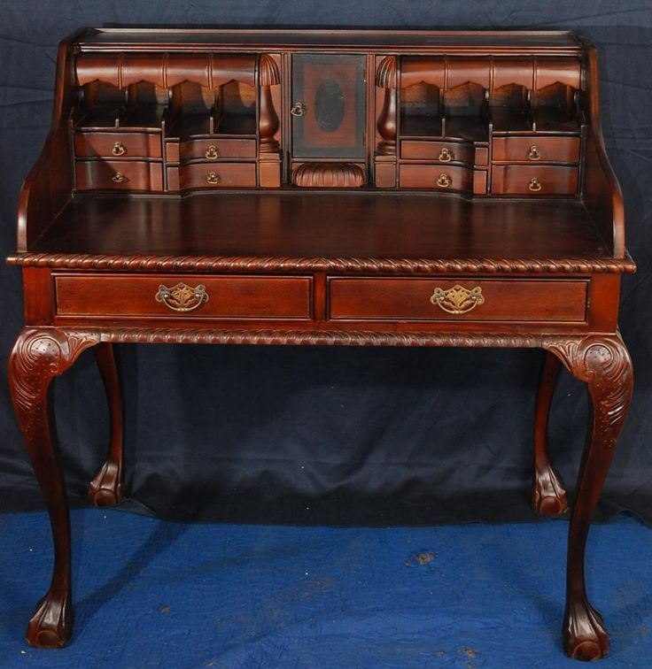 antique writing desk with secret compartments 3