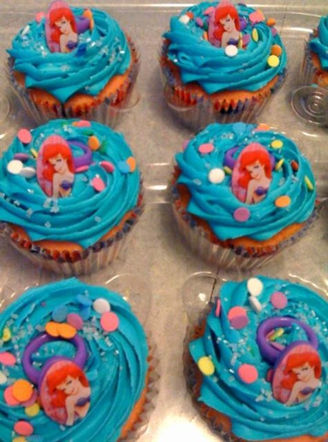 mermaid cupcakes