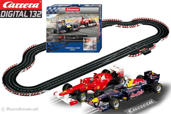 The Carrera Digital 132 Formula One Dual Racing set is the type of toy that will be in the family for generations to come! As slot car enthusiasts ourselves, carrying Carrera products was no debate! Carrera is known for the highest quality slot car racing sets on the market. They also have the best customer service around. Broken piece? Missing Piece? Questions? They will quickly solve any of your problems. Which is another reason why they are number #1!!!  #Carrera #Digital132 #SlotCars